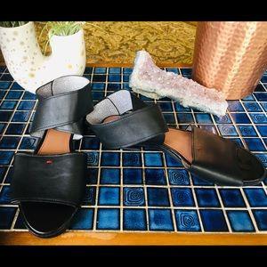 Ellen Degenerous Black Sandal
